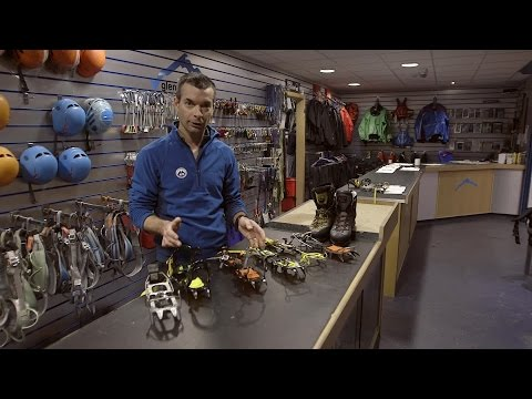 Winter skills 1.1: choosing winter boots and crampons