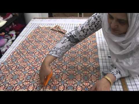 kameez ki cutting urdu