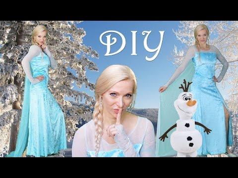 DIY Elsa Costume | Halloween Costume | Kids & Adults