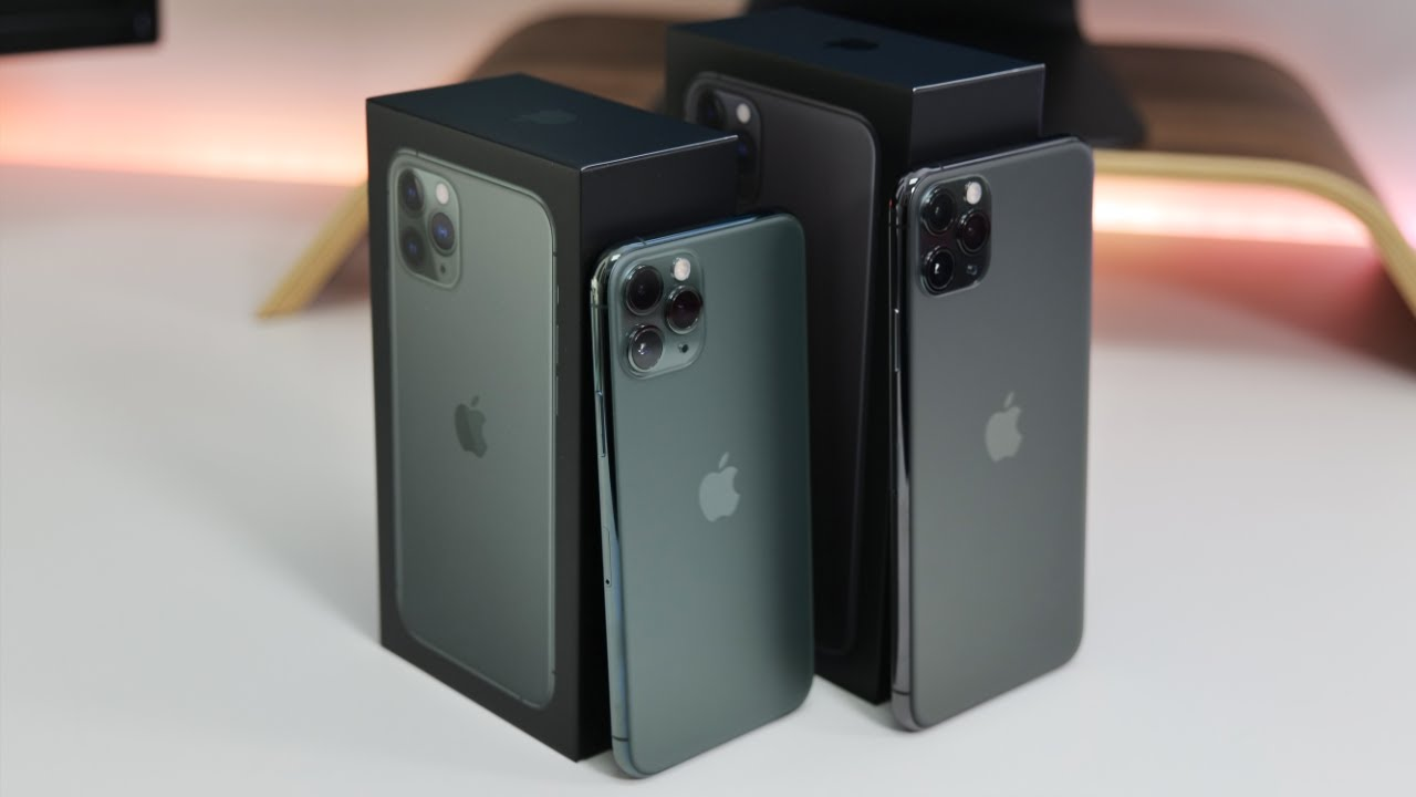 iPhone 11 Pro and iPhone 11 Pro Max - Unboxing, Setup and First Look
