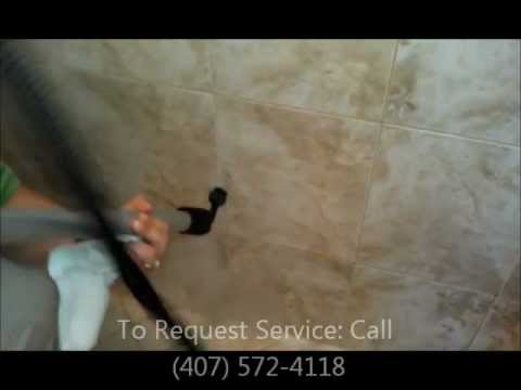 Steam Mold Shower.  Vapor Steam Cleaner. Deep Cleaning Shower