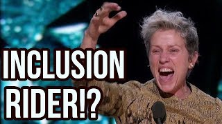 """The REAL Meaning Behind Frances McDormand's Powerful """"Inclusion Rider"""" Oscars Comment"""