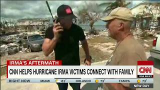 CNN reconnects separated families after Irma