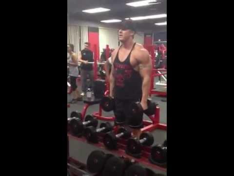 Rxwhey.com Josh Barnett and His Shoulder Workout