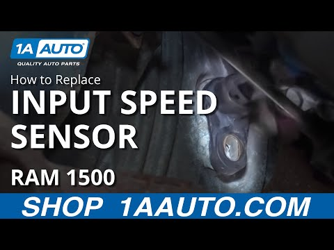 How to Install Replace Input Speed Sensor Dodge Ram BUY QUALITY AUTO PARTS AT 1AAUTO.COM