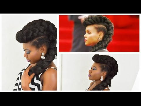Get the Red Carpet Look. The Janelle Monae Inspired look made Easy