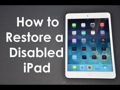 How to Fix (Forgot Passcode) Disabled iPhone / iPad iOS 11 iOS 10 iOS9