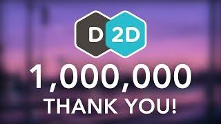 1 Million - THANK YOU!