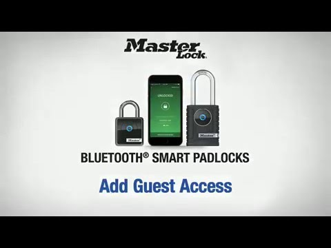 Master Lock 4400D & 4401DLH – Add Guest Access