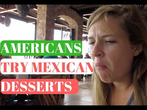 Americans Try Mexican Desserts! // Life in Puerto Vallarta Vlog