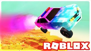 ESCAPING JAILBREAK MAP with ROCKET FUEL!!