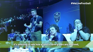 #WeLiveFootball at the FIFA eWorld Cup