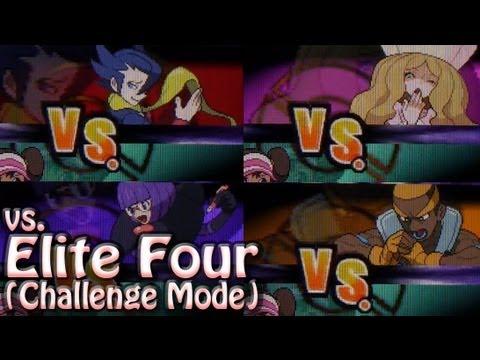 Pokemon White 2: Elite Four (Challenge Mode)