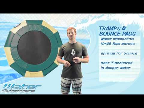 How to Choose the Correct Water Trampoline or Bounce Pad