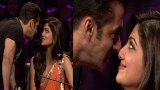 Salman and Shilpa in a blinking battle