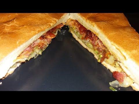BIG BUCK Jamaican Cabbage Sandwich