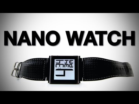 The New iPod Nano Watch Faces (iWatchz Carbon Unboxing & Review)
