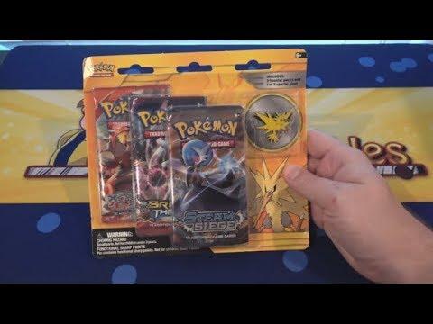 Pokemon Zapdos Pin Pack Opening
