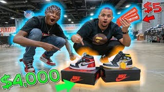 Trading a $5 Supreme Sticker To $4000 In Hype Sneakers! Sneakercon Washington DC | Ep.7