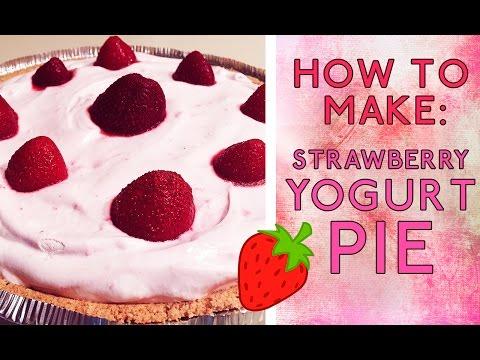 How To Make: Strawberry Yogurt Pie