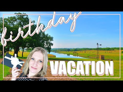 BIRTHDAY VACATION VLOG & UNBOXING