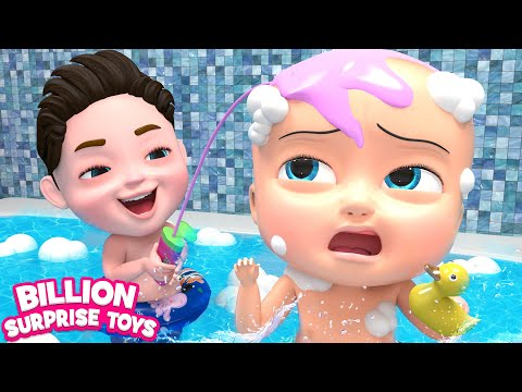 Bath Song for Kids | Play & Bath | 3D Animation Rhymes & Songs for Children