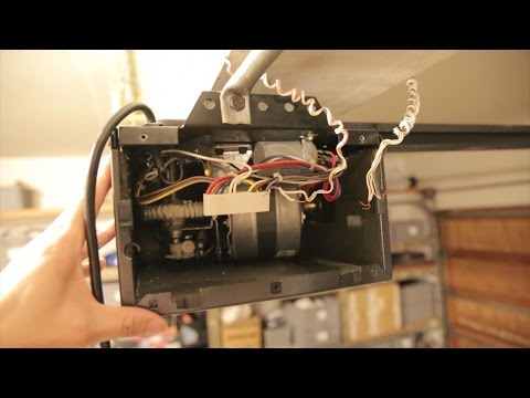 LiftMaster Whisper Drive Garage Door Opener Repair: Transformer Failure | BeatTheBush