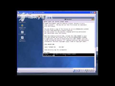automount home directories
