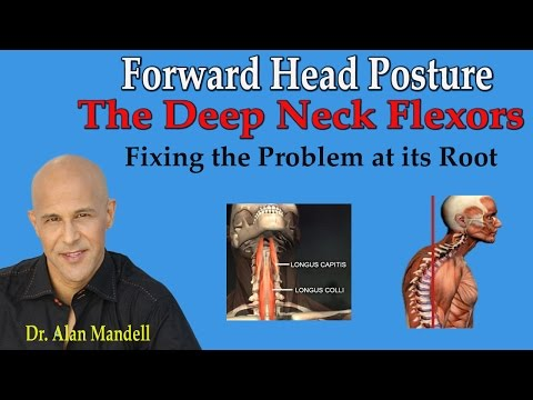 Forward Head Posture (Weak Deep Neck Flexors) Fixing the Problem at its Root - Dr Mandell
