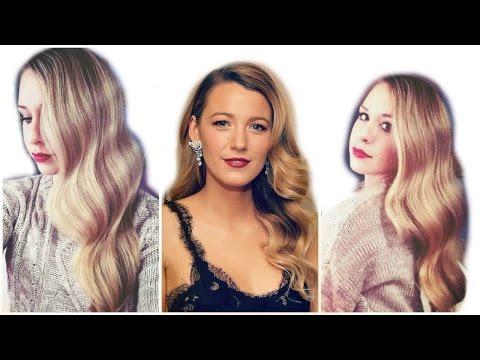 Blake  Lively Inspired Hair Tutorial (Big Waves)