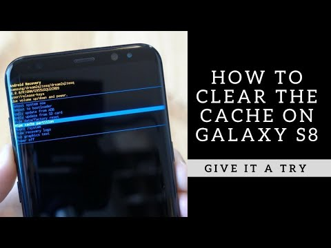 How to Clear the Cache on Galaxy S8