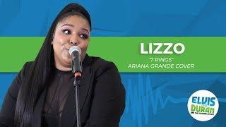 "Lizzo - ""7 rings"" Ariana Grande Cover | Elvis Duran Live"