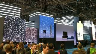 Samsung Booth at CES 2018