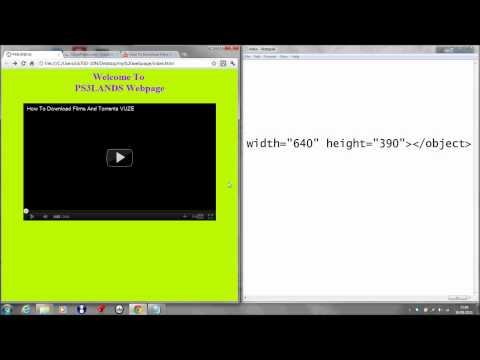How To Make a Basic Website Using Notepad part 1