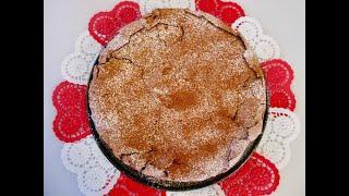 Flourless CHOCOLATE CAKE | Only 4 ingredients | DIY Valentine's Day CAKE Recipe
