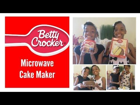 Kids Baking: Moist Yellow Cake in the microwave  - Betty Crocker