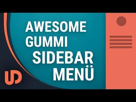 Awesome Gummi Sidebar Menü! [TUTORIAL]
