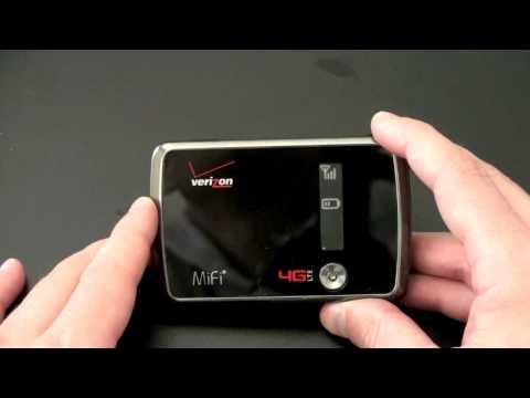 Verizon 4G LTE MiFi Unboxing