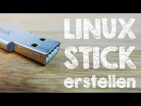 Linux Mint / Ubuntu USB-Stick zur Installation erstellen und booten, Anleitung auf Deutsch
