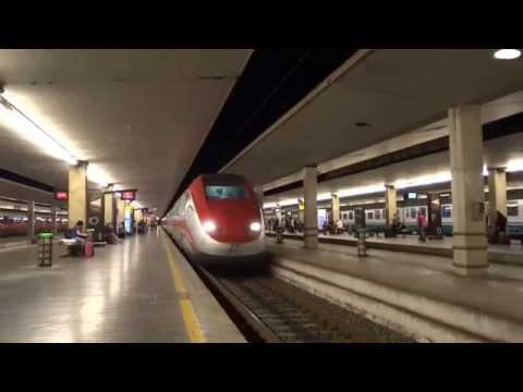 Florence, Italy - Santa Maria Novella Railway Station HD (2015)