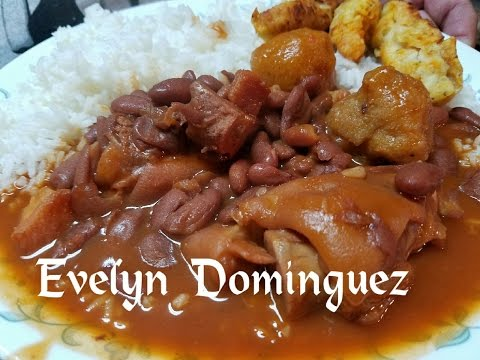 How to make Red Kidney Beans with Pork Feet