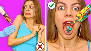 10 Ways to Sneak Food Into the Hospital! Awesome Food Hacks & DIY Ideas by Mr Degree