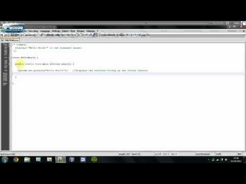 Understanding Java   Introduction To Hello World + Comments   Tutorial #3