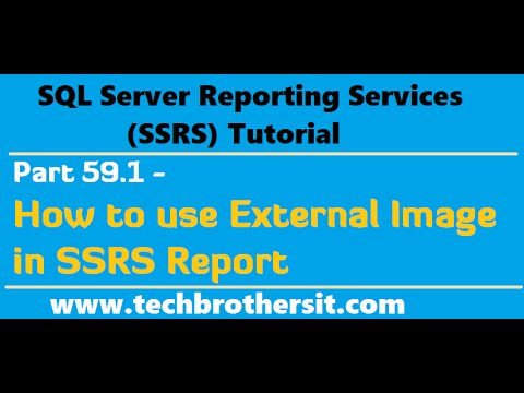 SSRS Tutorial  Part 59.1- How to use External Image in SSRS Report