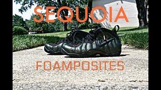 best sneakers da467 87993 Sequioa Foamposites   Shoe And On Foot Review
