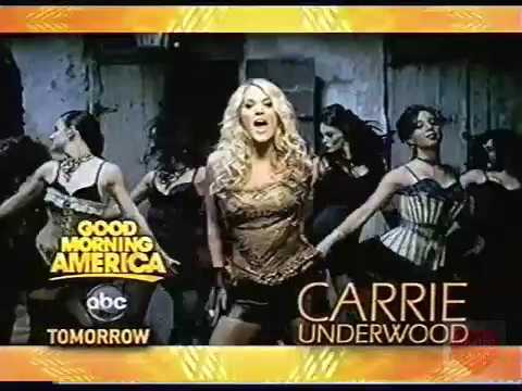 Carrie Underwood   Good Morning America Fall Concert Series   ABC   Promo   2009