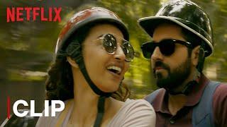 Radhika and Ayushmann's Eye-conic Scene | Andhadhun | Netflix India