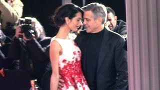 George and Amal Clooney Are So Romantic On