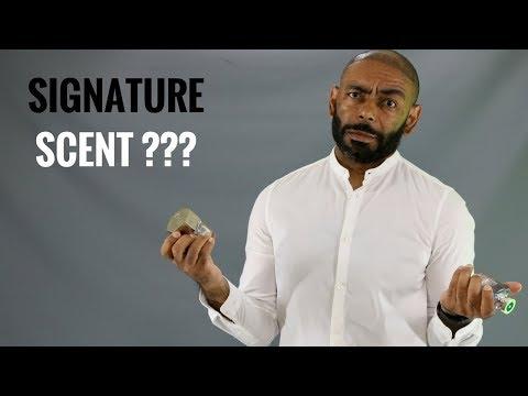 How To Choose A Men's Signature Scent/Choose A Signature Cologne