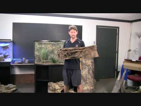 Installing a Custom 3D Rock Background Wall in Aquariums or Fish Tanks